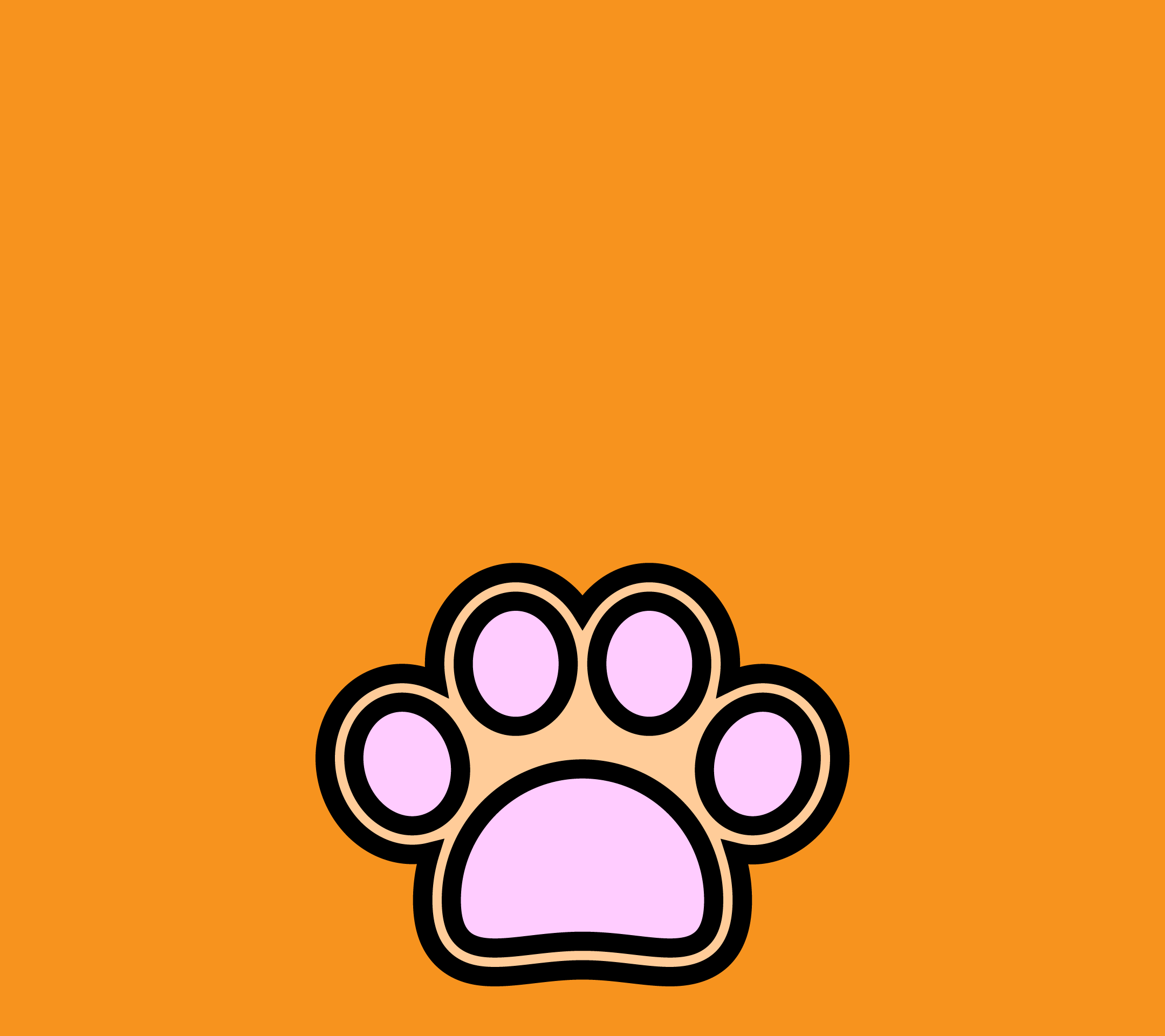 wallpaper3_dogfootprint-orange-android
