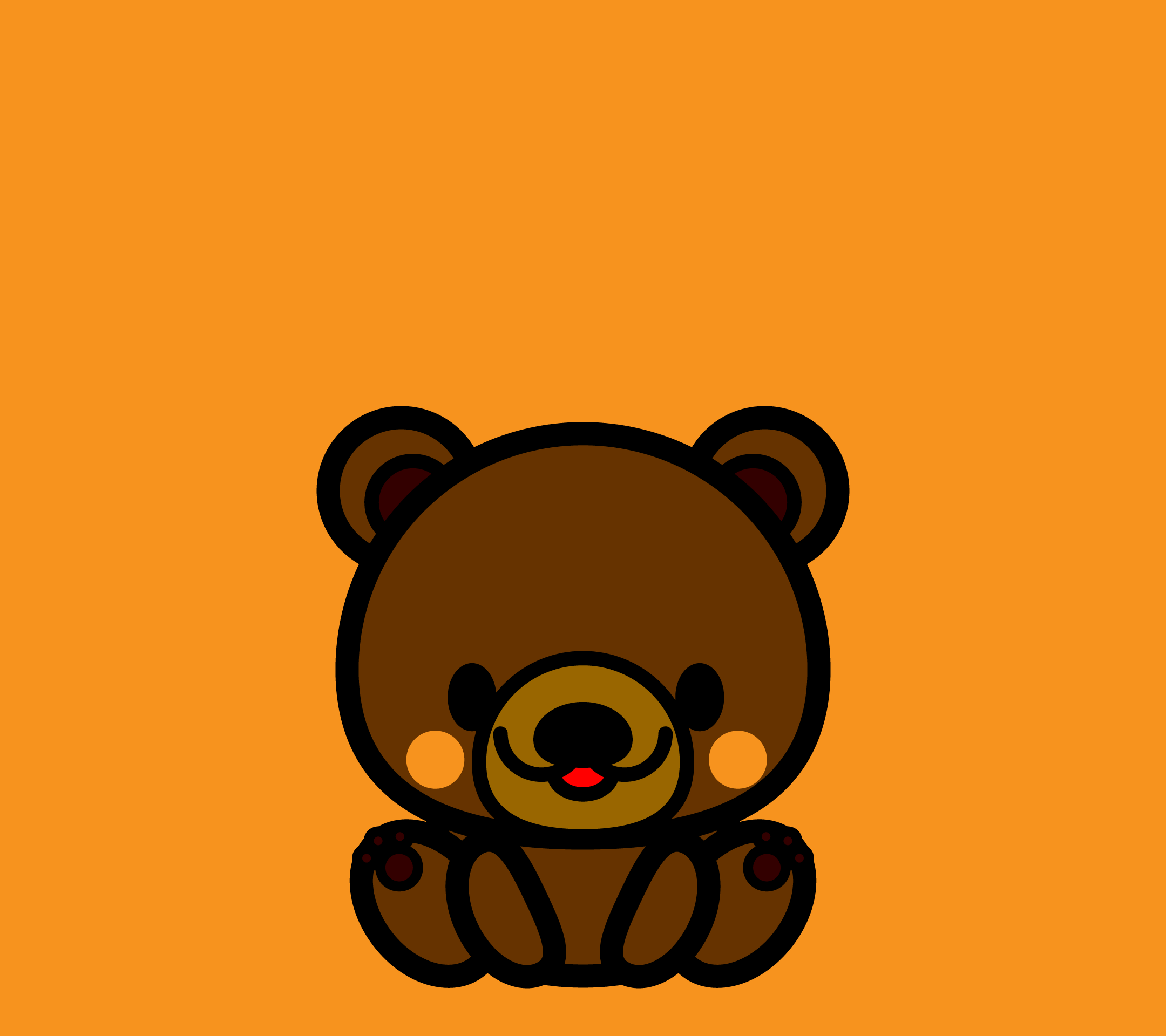 wallpaper3_sitbear-orange-android