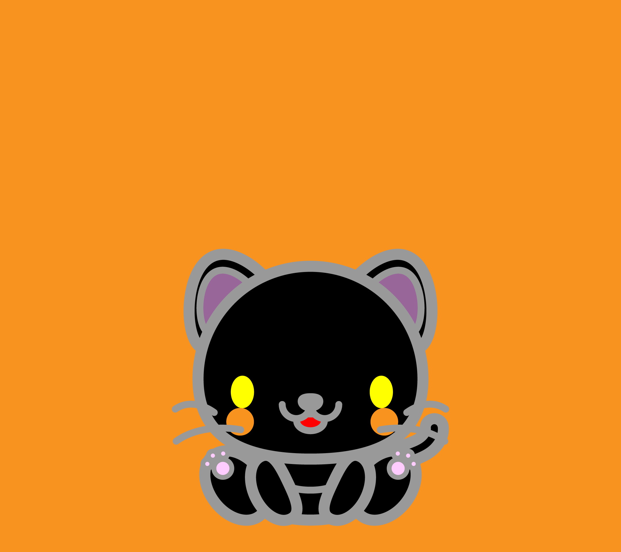 wallpaper3_sitblackcat-orange-android