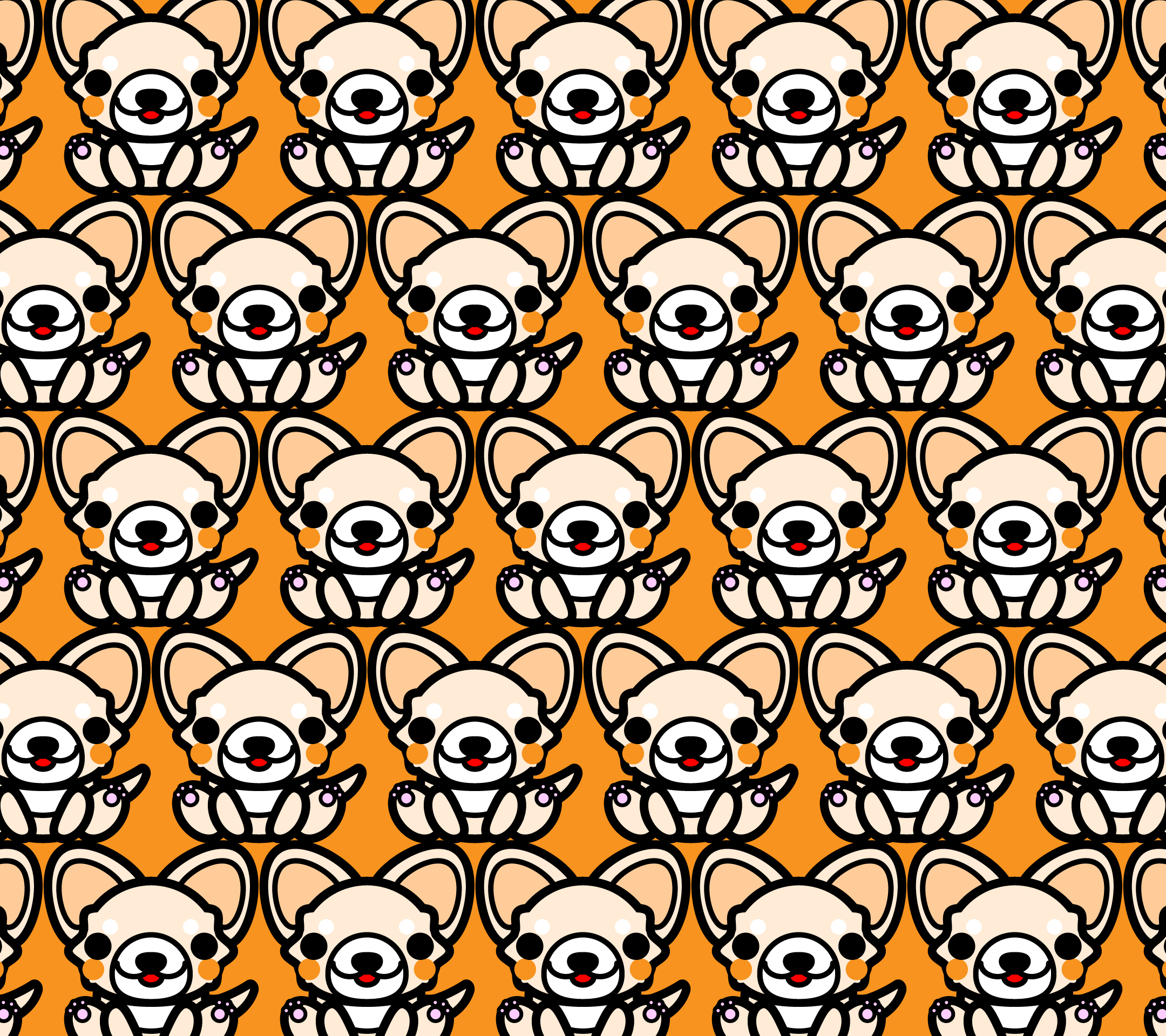 wallpaper4_sitchihuahua-fiill-orange-android