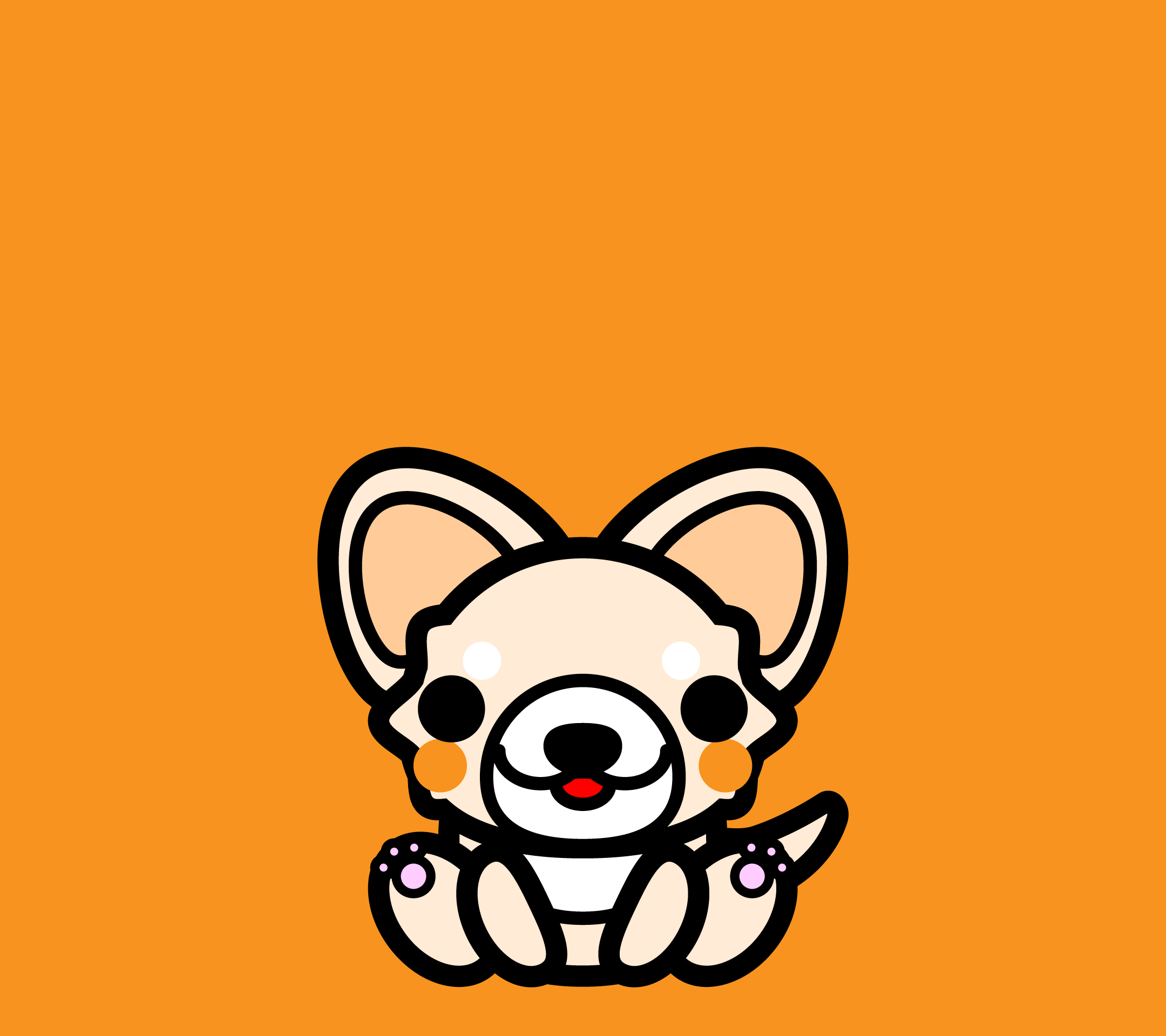 wallpaper4_sitchihuahua-orange-android