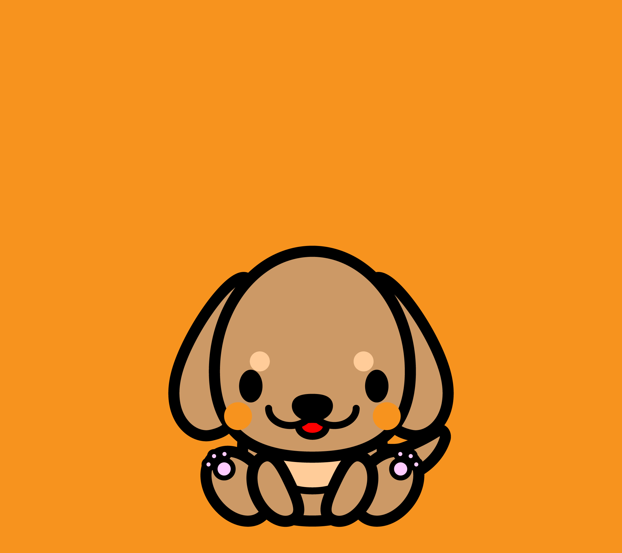wallpaper4_sitdachshund-orange-android