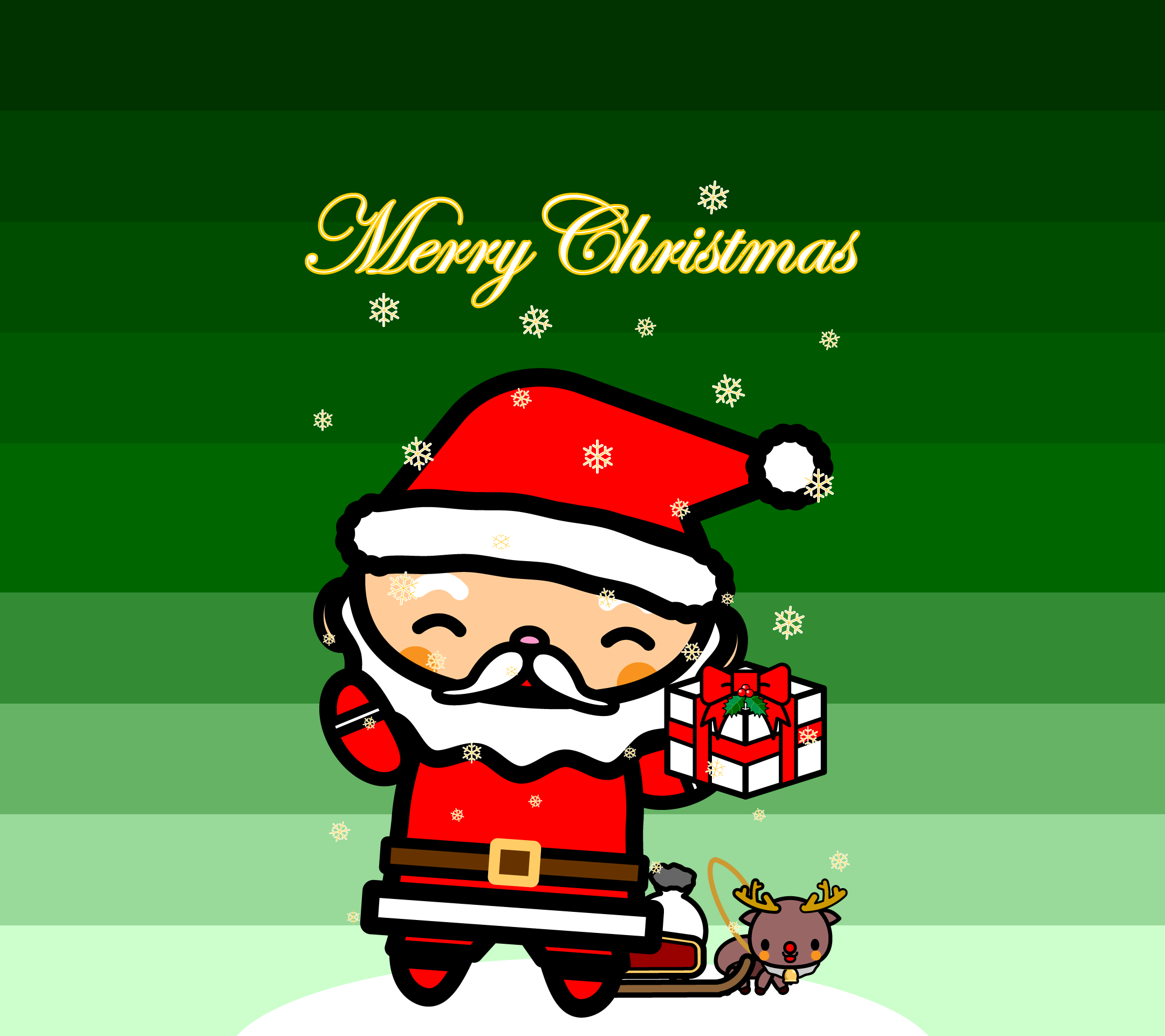 wallpaper6_christmas-santa-green-android