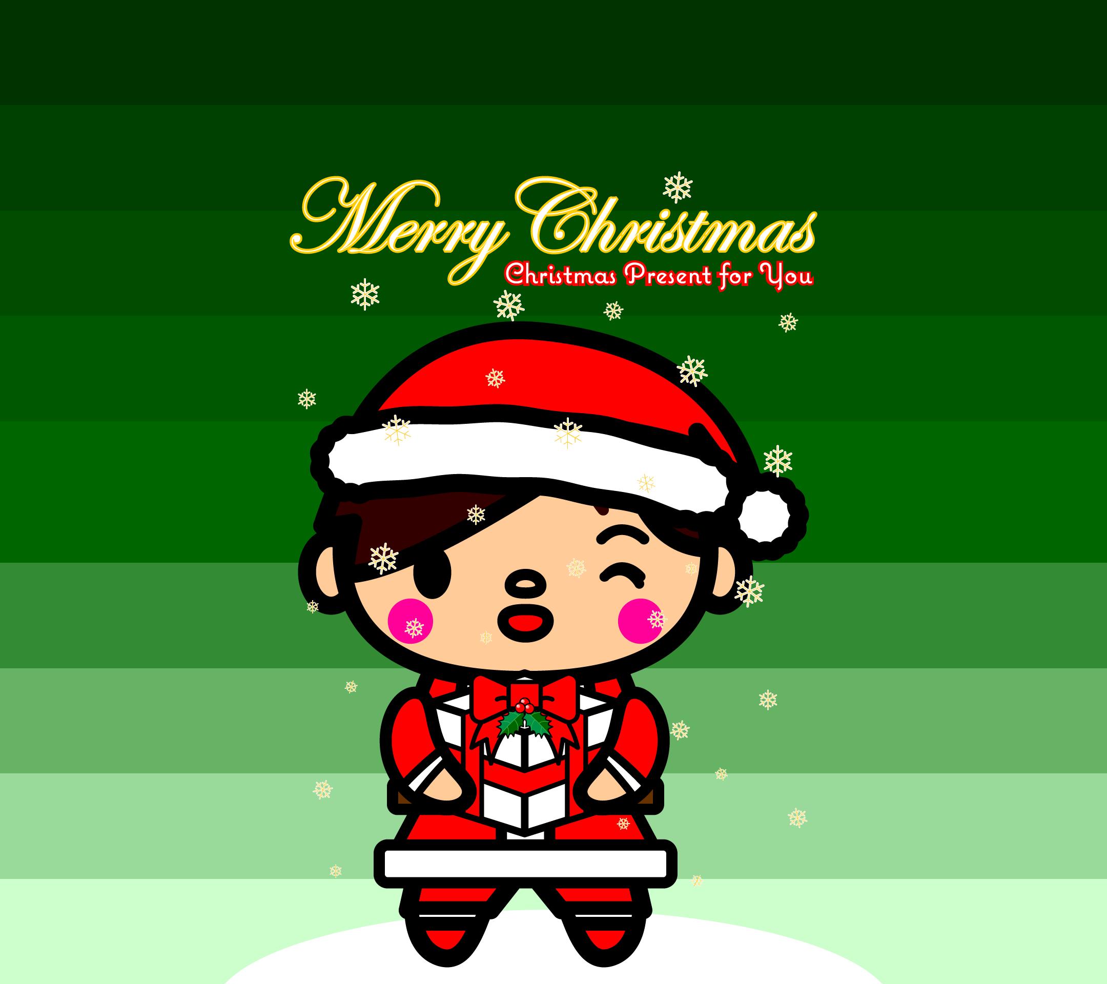 wallpaper6_christmas-santaman-green-android