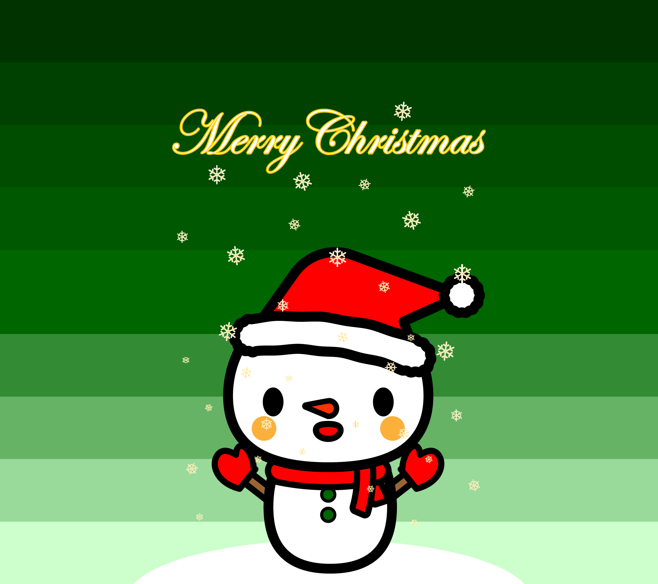 wallpaper6_christmas-snowman-green-android