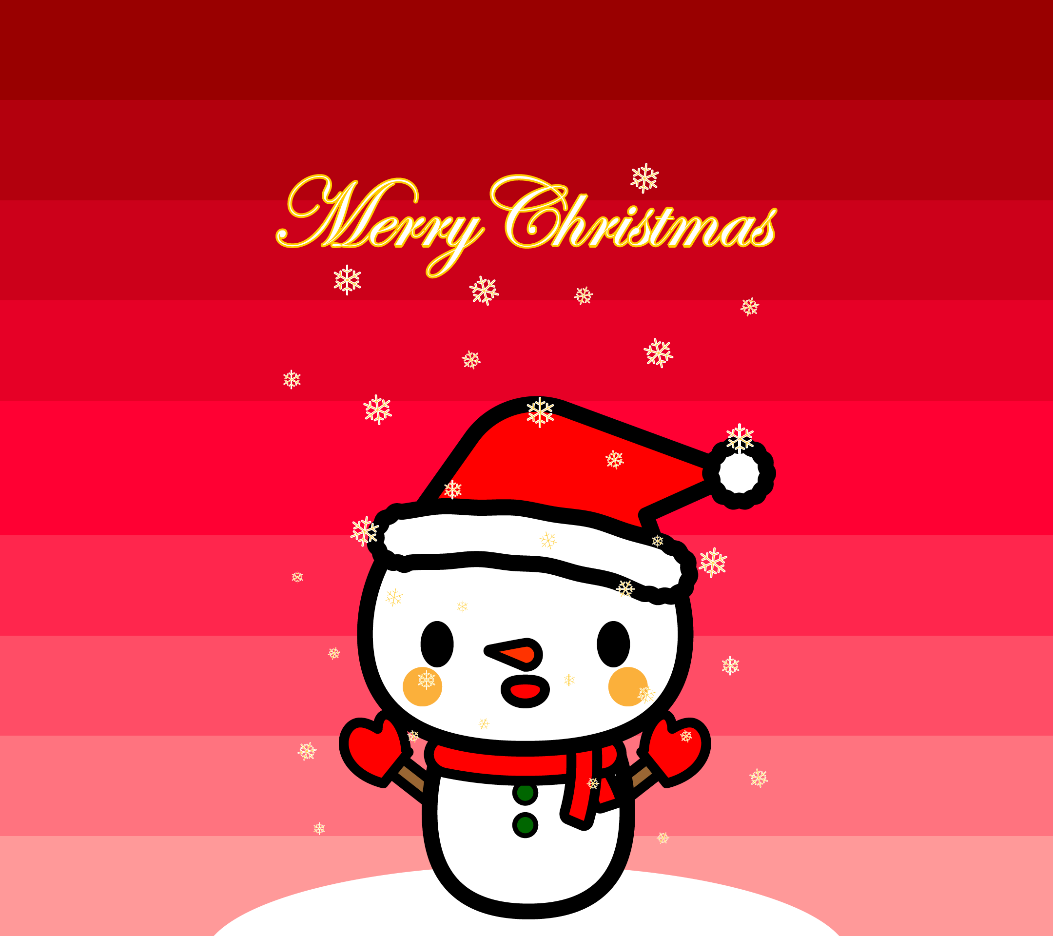 wallpaper6_christmas-snowman-red-android