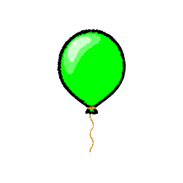 balloon_01-green-handwrittenstyle