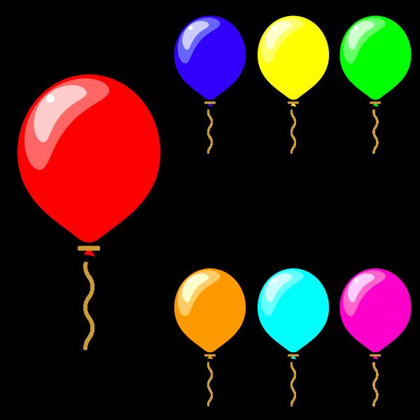 かわいい風船の無料イラスト・商用フリー