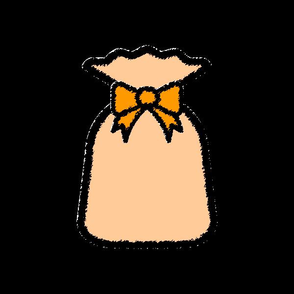 present2_bag-orange-handwrittenstyle
