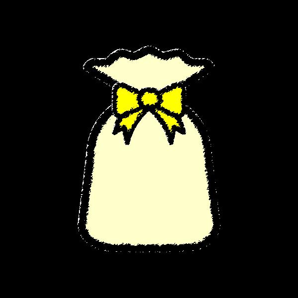 present2_bag-yellow-handwrittenstyle