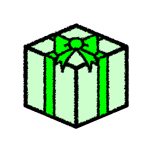 present_box-green-handwrittenstyle